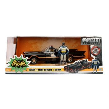 Batman 1966 TV Series 1:24 Scale Classic Batmobile Diecast